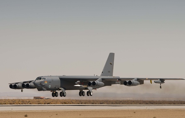 Picture UNITED STATES AIR FORCE, Boeing B-52 Stratofortress, Stratospheric fortress