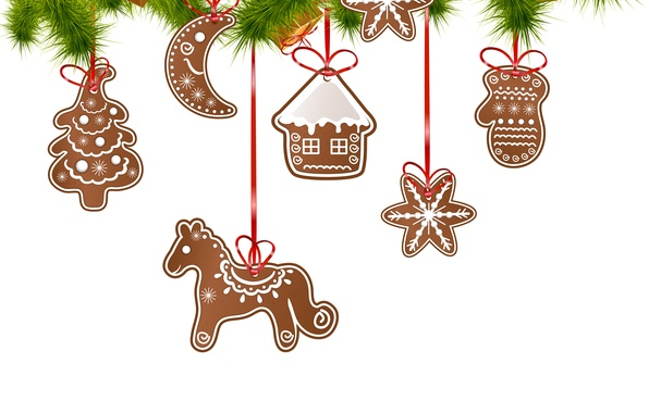 Picture Tree, Merry Christmas, Cakes