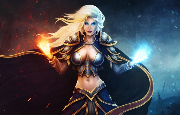 Picture woman, MAG, WoW, World of Warcraft, Jaina Proudmoore, Lady Jaina