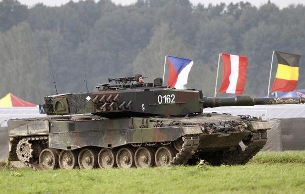 Picture tank, combat, Leopard, 2A4