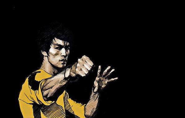 Picture memory, figure, master, legend, Bruce Lee, bruce lee