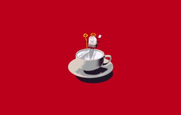 Picture tea, Cup, bag