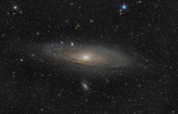 Picture space, stars, space, Andromeda Galaxy