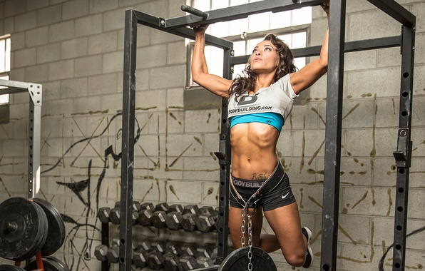 Picture back, strength, arms, weight, physical fitness