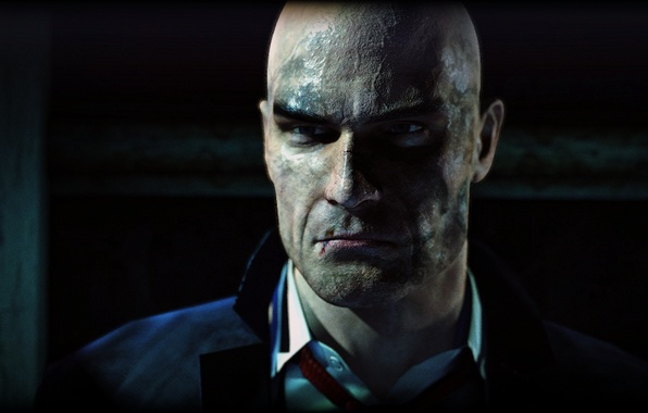 Picture Hitman Absolution, Agent 47, Jacket, Dirty, Mr.47, Serious