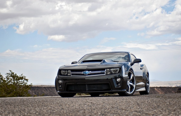 Picture auto, tuning, muscle car, Camaro, chevrolet camaro, lunchbox photoworks