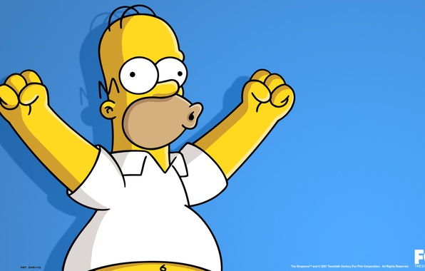 Picture The simpsons, The Simpsons, Homer Simpson, Homer Simpson, Uhuuuuuuu