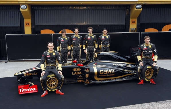 Picture Lotus, formula 1, the car, Lotus, Reno, formula 1, Reno, Petrov, Petrov, presentation