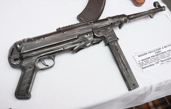 Picture war, the gun, world, Second, times, MP 40