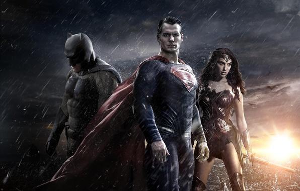 Picture Wonder Woman, Batman, Ben Affleck, Superman, Henry Cavill, Henry Cavill, Gal Gadot, Gal Gadot, Ben ...