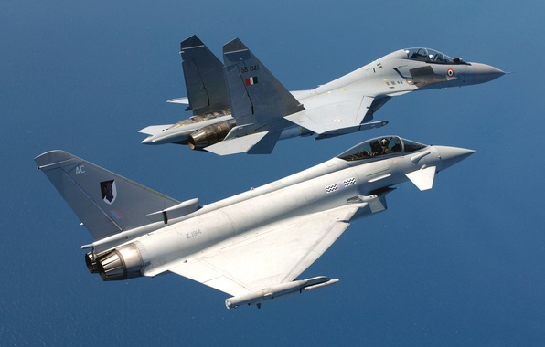 Picture Sea, The plane, Fighter, 2000, Aviation, BBC, The MiG-29, Mirage, Mirage, In The Air