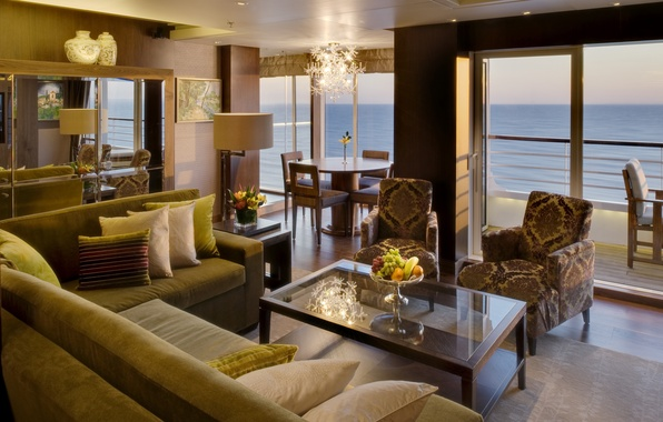 Picture design, style, room, interior, balcony, terrace