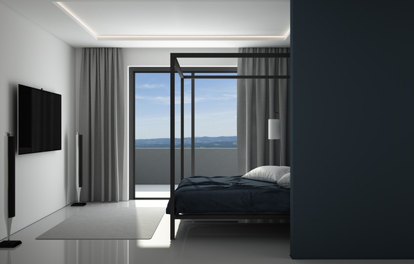 wallpaper bedroom interier minimalist architecture images for