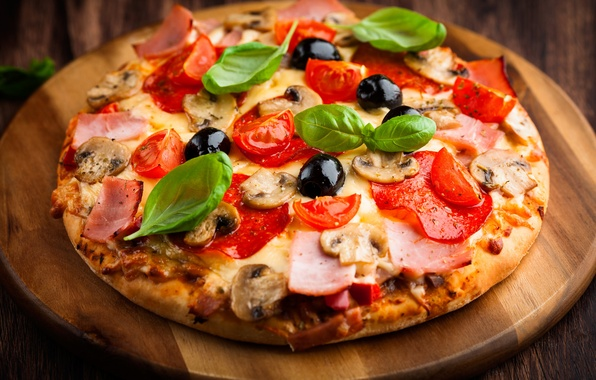 Picture food, Italy, pizza, Italy, food, pizza
