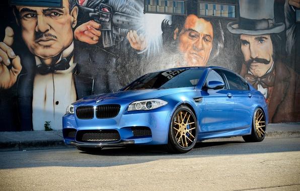 Picture graffiti, BMW, BMW, The godfather, F10, Wheels, Strasse, Concave, Mafia, Mafia