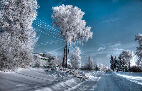 Picture Winter, Russia, Landscapes
