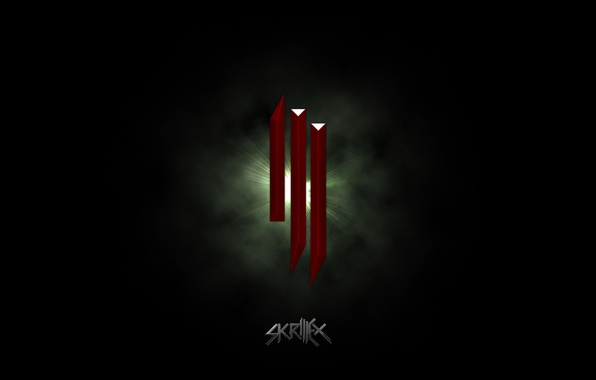 Picture music, logo, dubstep, Skrillex
