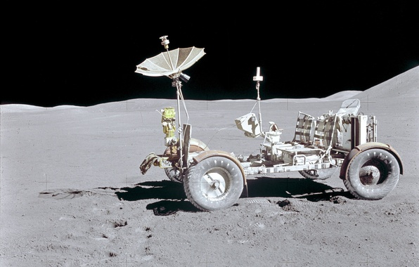 Picture space, Wallpaper, the moon, nasa, lunar vehicle