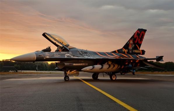 Picture figure, fighter, F-16, falcon