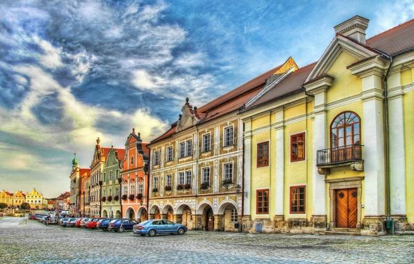 Picture HDR, home, Czech Republic, Telc