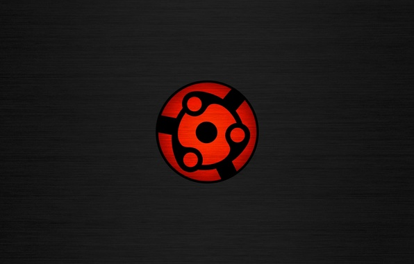 Photo wallpaper red, Wallpaper, Minimalism, Naruto, black