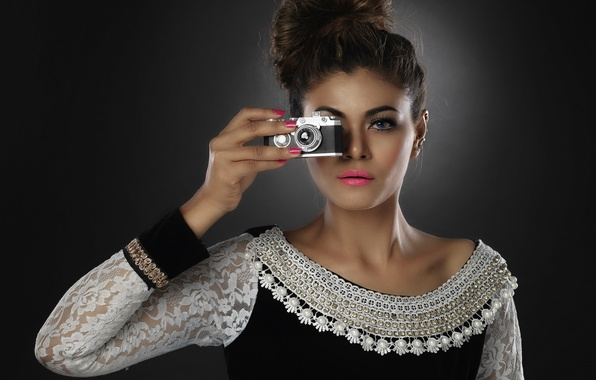 Picture look, girl, style, the camera
