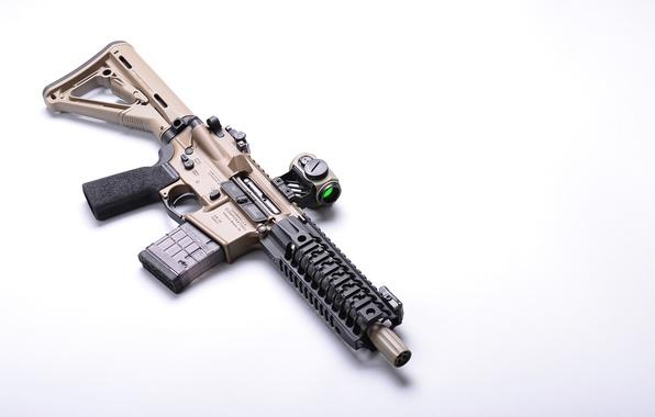 Picture weapons, umbrella, SBR, assault rifle