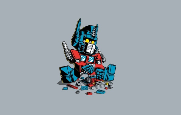 Picture Minimalism, LEGO, Art, Transformer, Transformer