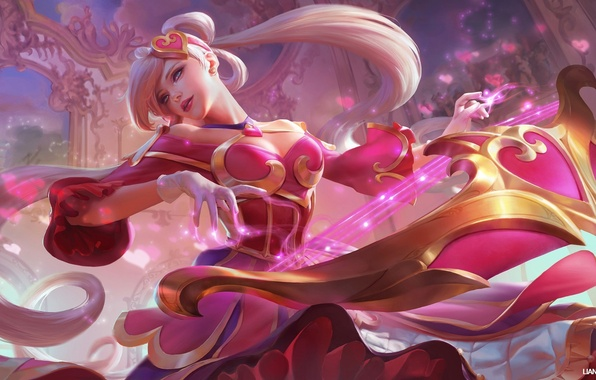 Photo wallpaper the game, Sona, League of Legends, art