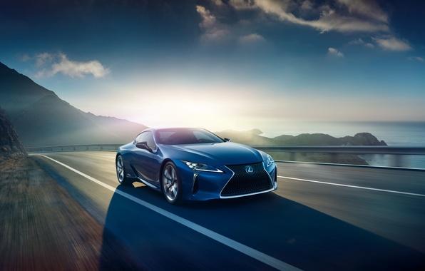 Picture blue, Lexus, Lexus