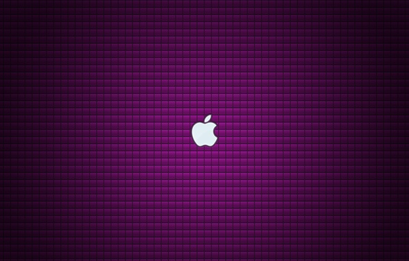 Picture apple, texture, brand