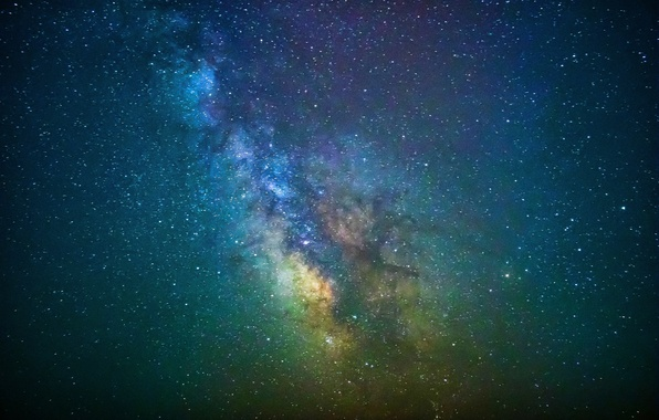 Picture stars, mystery, The Milky Way, infinity