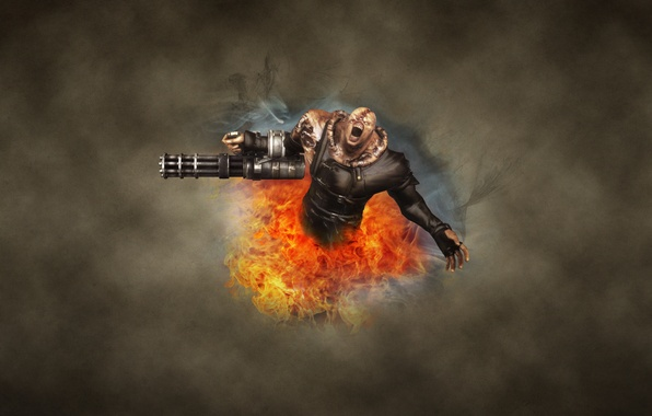 Picture the dark background, fire, monster, zombies, Resident Evil, resident evil, Nemesis, Nemesis, Nemesis