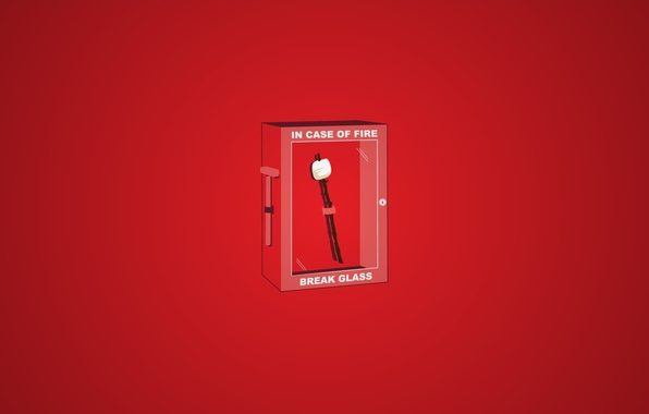 Picture red, fire, box, wand