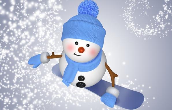 wallpaper winter snow snowboard snowman christmas new