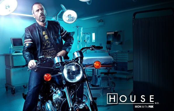 Picture Dr., Motorcycle, House, hospital, bike