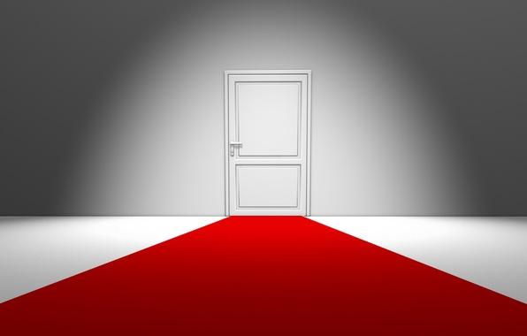 Picture house, style, creative, room, minimalism, door, the door