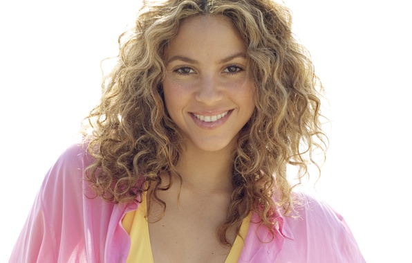 Picture smile, blonde, singer, Shakira, celebrity, shakira