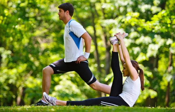 Picture nature, couple, outdoors, elongation