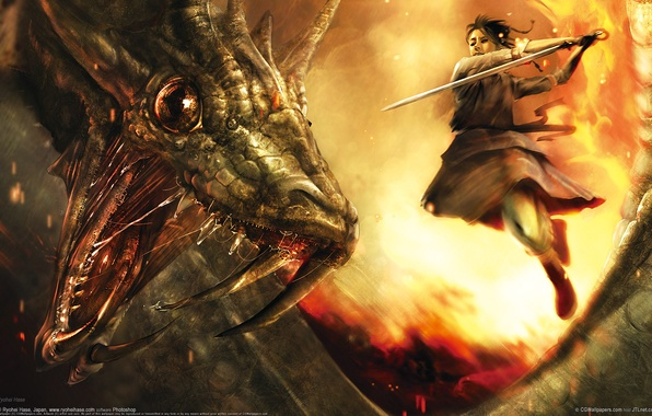Picture warrior, snakes, battle, ryohei hase
