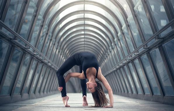 Picture girl, flexibility, dance, grace