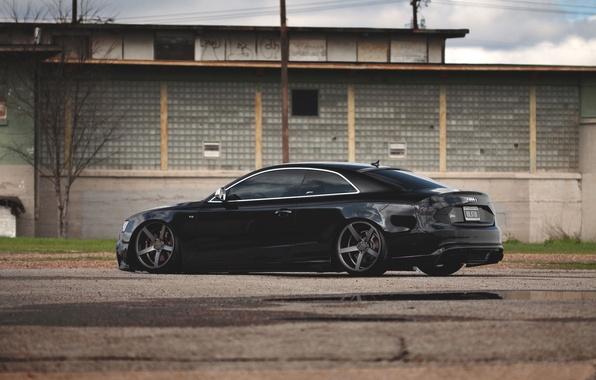 Picture Audi, Auto, House, Tuning, Machine, Drives, Suspension
