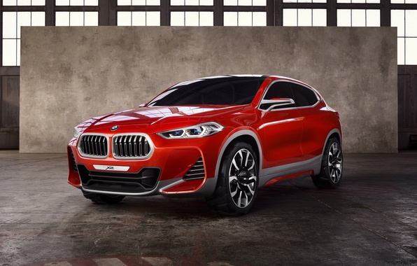 Picture Concept, Red, BMW, Car, 2016, Metallic, X2
