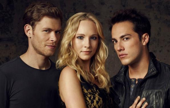 Picture the series, the vampire diaries, Joseph Morgan, The vampire diaries, Candice Accola, Candice Accola