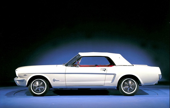 Picture Mustang, Ford, Photo, Retro, Machine, Ford, Old, Mustang, Car, Car, Beautiful, Car, Wallpapers, 1964, Photo, ...