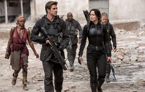 Picture Jennifer Lawrence, Katniss, The Hunger Games:Mockingjay, Liam Hemsworth, The hunger games:mockingjay, Gale Hawthorne