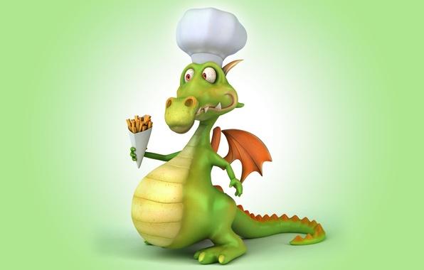 Picture dragon, dragon, funny