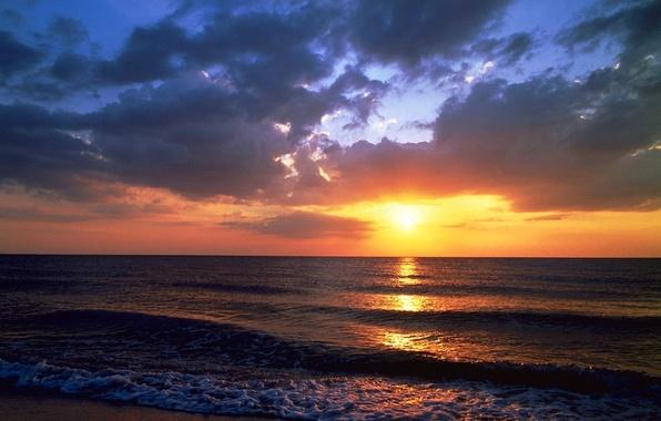 Picture Sunset, Sea, Beach