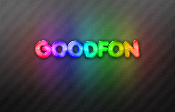 Picture background, the inscription, rainbow, neon, goodfon, rainbow, background, neon, background