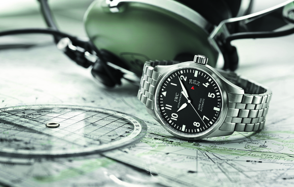 Picture watch, Watch, Pilots, IWC, Mark XVII
